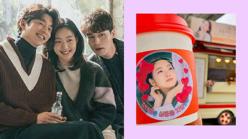 So Sweet! Pemain Goblin Kirimkan Coffee Truck Untuk Kim Go Eun