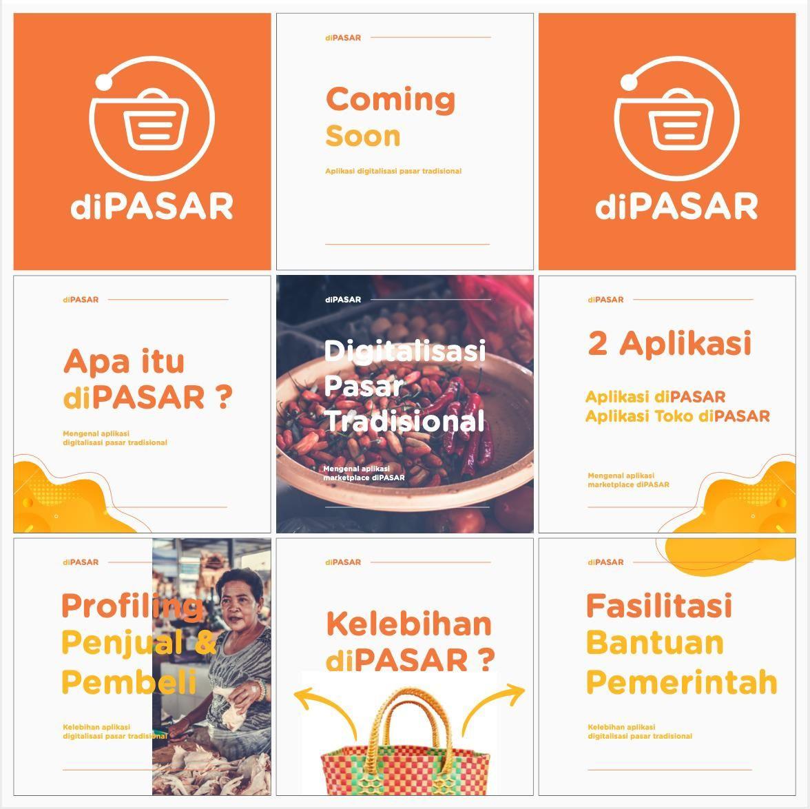 Aplikasi diPasar