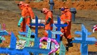 5 Hari Berturut-turut, Kematian Harian Corona Brasil Tertinggi di Dunia