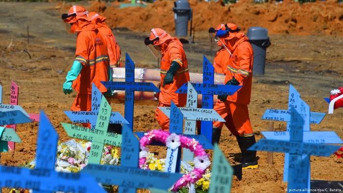 Brasil Catat Rekor Baru Kematian Harian, Juru Bicara Kepresidenan Tertular Covid-19