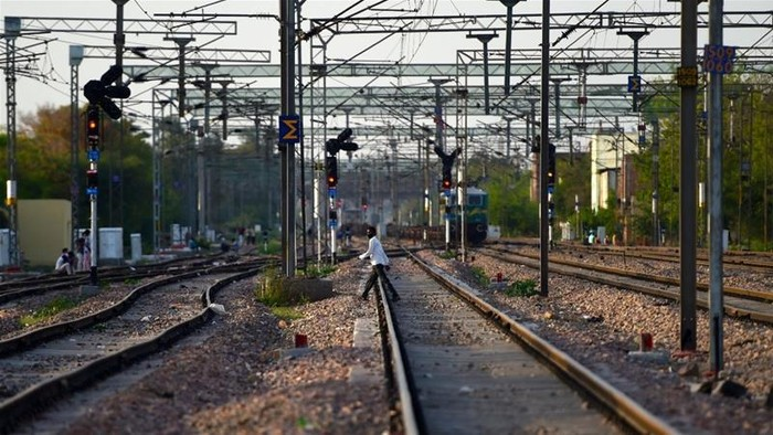 Indias railway network is one of the largest in the world and carries about 23 million passengers a day [File: Money Sharma/AFP]