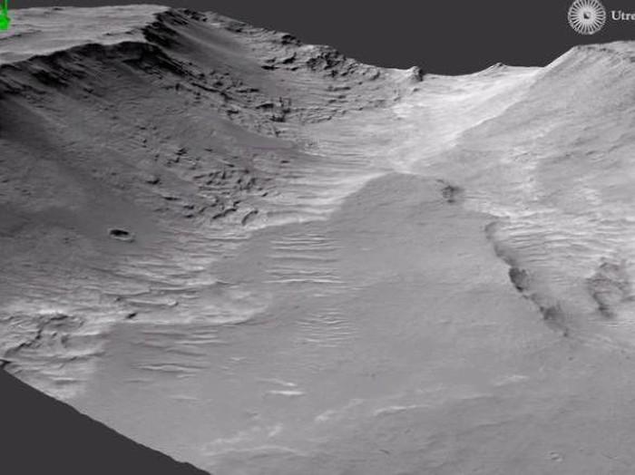 sungai di Mars