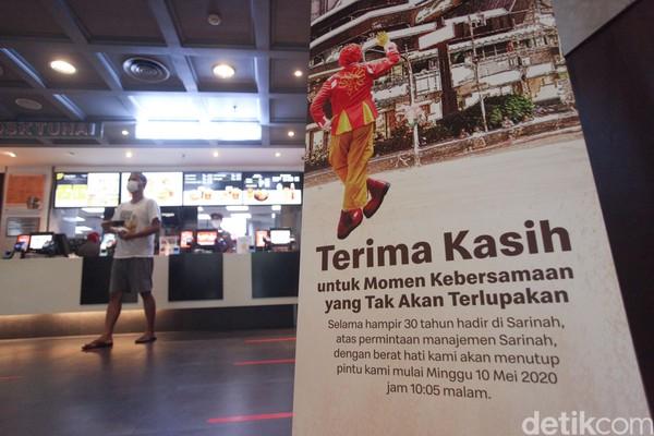 Beragam kenanganpun membuat netizen bernostalgia terhadap penutupan gerai McDonalds ini. Mereka pun beramai-rammai membagikan kenangan lama di sana. (Rifkianto Nugroho)