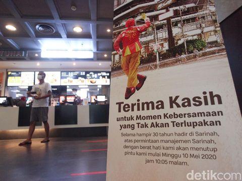 Restoran siap saji McDonald's Sarinah akan tutup permanen. Yuk lihat lagi sudut-sudut penuh cerita di gerai McD pertama di Indonesia ini.