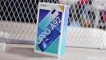 Unboxing Oppo A92, Ponsel Trendi Dibanderol Rp 4 Jutaan