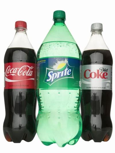 Botol plastik minuman soda memiliki lima tonjolan di bagian bawah.