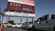 Kasino di Las Vegas Disulap Jadi Bank Makanan