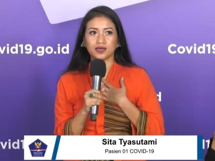 Pasien 01 COVID-19 Sita Tyasutami