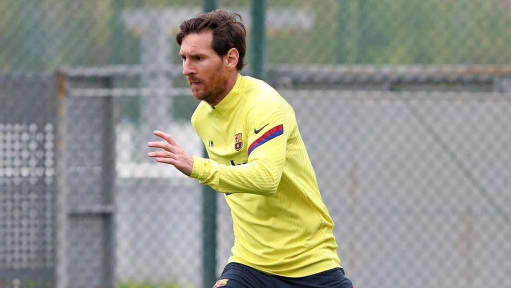 Lionel Messi Cedera, Mungkin Absen di Laga Lawan Mallorca