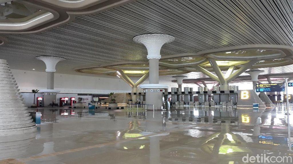 Cuma Layani 2 Penerbangan, Bandara Kulon Progo Sepi Banget