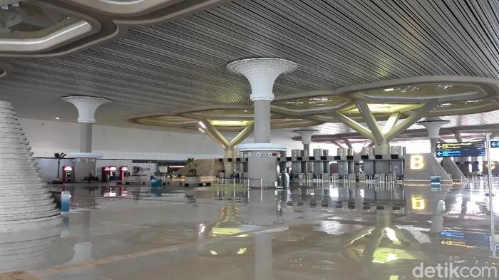 Bandara International Airport (YIA) di Kulon Progo telah membuka layanan penerbangan sejak Kamis (7/5). Namun penerbangan baru ada hari ini, dengan dua penerbangan.