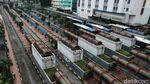 Giliran Terminal Blok M yang Ikutan Sepi
