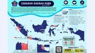 Peta Persebaran Virus Corona, Jadi Panduan untuk Traveling Kamu