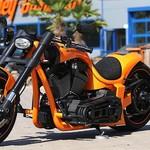 Modifikasi Harley-Davidson Rasa Lamborghini