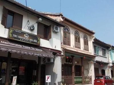 Foto: Selamat Pagi dari Jonker Street di Melaka
