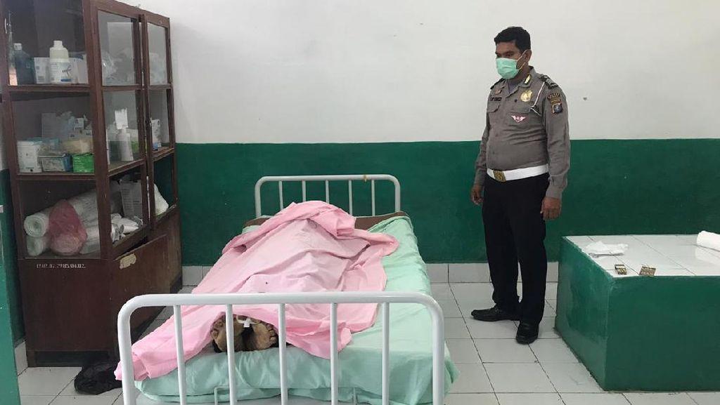 Aksi Dermawan Polisi Tebus Jenazah Korban Kecelakaan