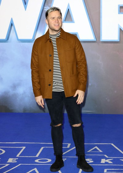 LONDON, ENGLAND - DECEMBER 18: Olly Murs attends the Star Wars: The Rise of Skywalker European Premiere at Cineworld Leicester Square on December 18, 2019 in London, England. (Photo by Tristan Fewings/Getty Images)