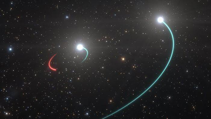 Lubang hitam, objek dengan gravitasi kuat, berjarak 9,5 triliun kilometer, atau terdekat dari Bumi, ditemukan