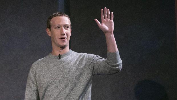 Facebook CEO Mark Zuckerberg speaks about