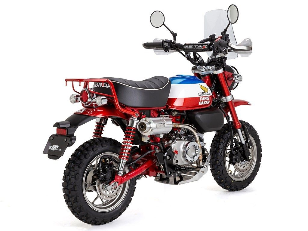Honda Monkey 125 Paris Dakar