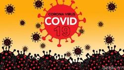 Sebaran 68.079 Kasus Positif Corona di 34 Provinsi Per 8 Juli