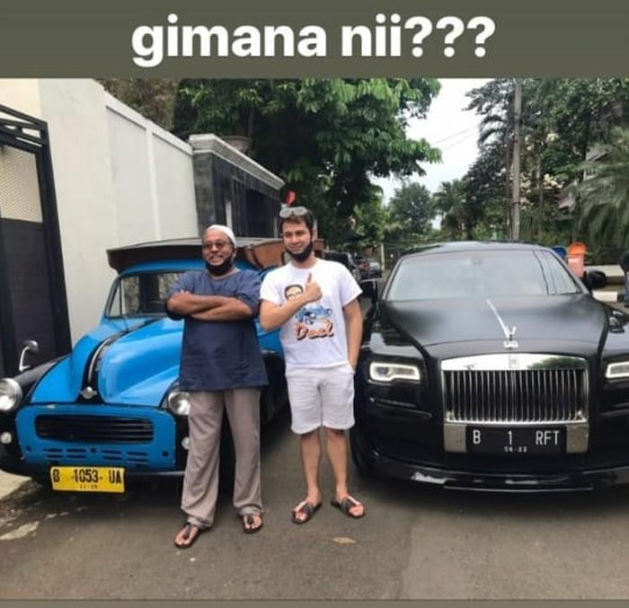 Oplet bang Doel mau ditukar Rolls-Royce
