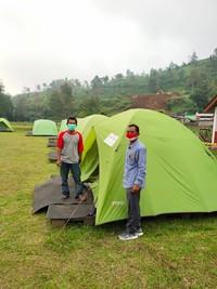 Objek wisata Telaga Madirda, Desa Berjo, Kecamatan Ngargoyoso, Karanganyar dijadikan lokasi karantina pemudik oleh pemerintah desa setempat. (dok Istimewa)