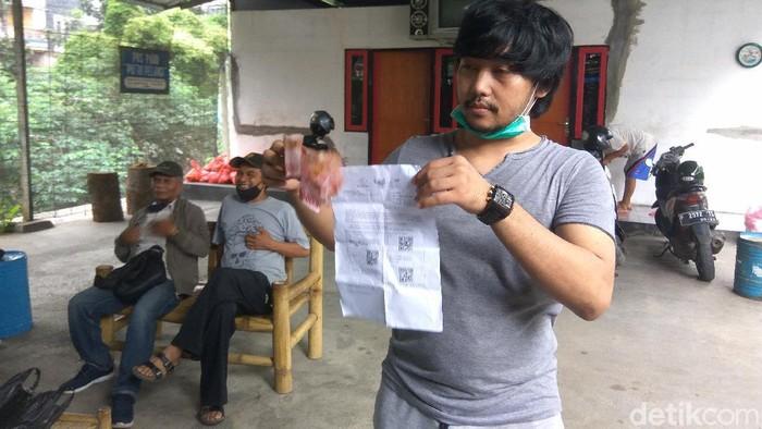 Jayus anak dari Anggota DPRD Cimahi