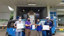 PGN Bagikan Sembako ke Dapur Umum hingga Sopir Bajaj dan Angkot