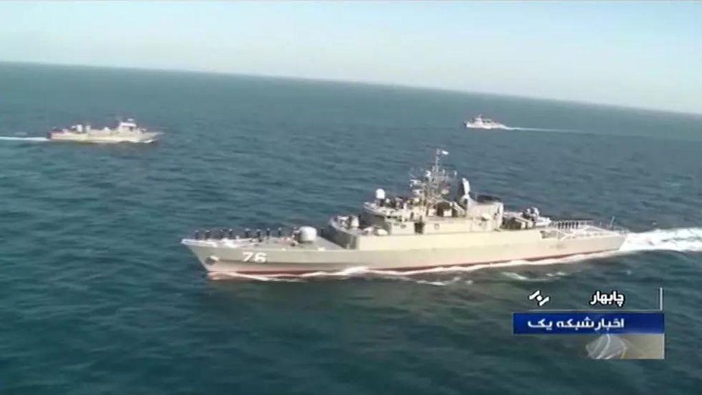 Penampakan Kapal Perang Iran yang Tertembak Rudal Teman Sendiri