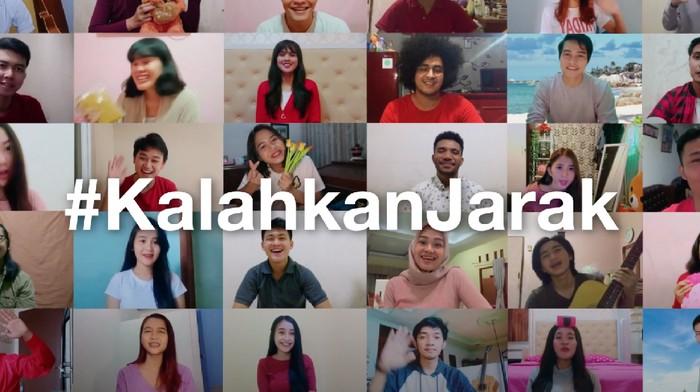 3 Indonesia Bikin Gerakan #KalahkanJarak