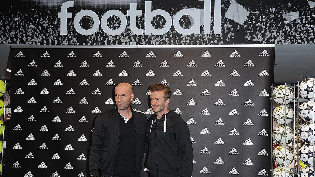 David Beckham dan Zinedine Zidane, Dua Legenda yang Saling Puji