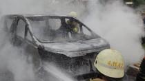 Mobil Alphard Terbakar di Pondok Indah, Tak Ada Korban Jiwa