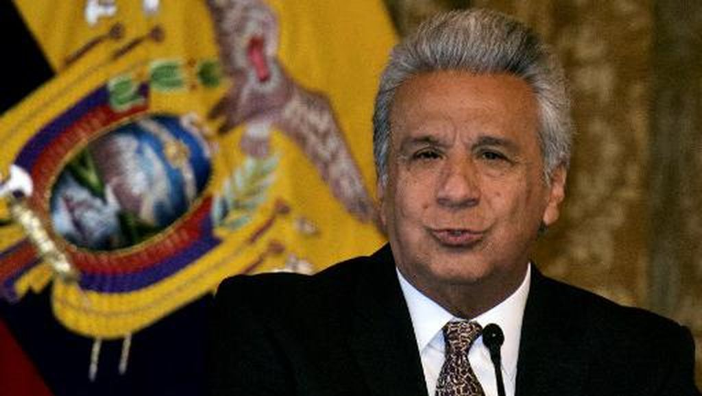 Presiden Ekuador Rela Gaji Dipangkas Gegara Corona Mengganas