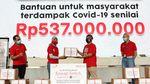Donasi 3.000 Paket Sembako untuk Warga Terdampak COVID-19