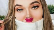 Viral Tantangan Makeup Bikin Wajah Kecil, Hasilnya Mengejutkan