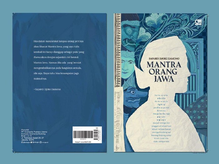 Buku Puisi Sapardi Djoko Damono Mantra Orang Jawa