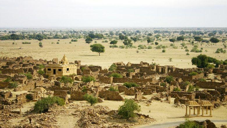 Kota Hantu Kuldhara, India