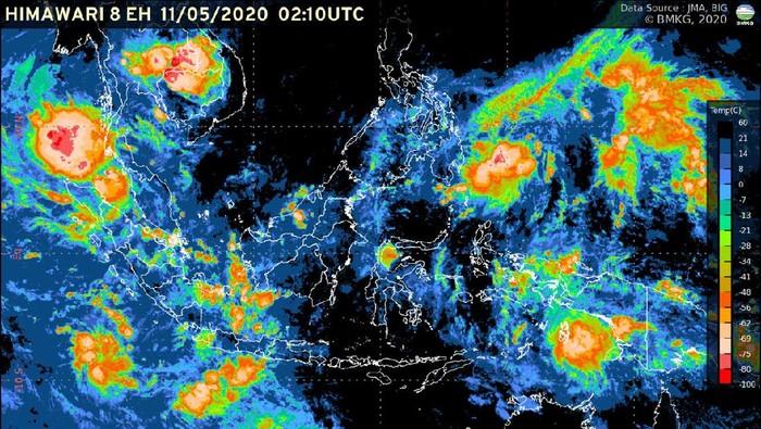 Citra radar BMKG, Senin (11/5/2020).