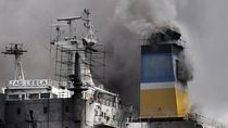 Kapal Tanker Minyak Rusia Meledak di Laut Azov, 3 ABK Hilang