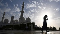 Habis Jalan Presiden Jokowi Kini Replika Masjid Agung Abu Dhabi di Solo