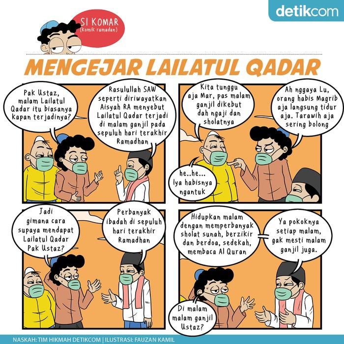 Komik Ramadhan, Mengejar Lailatul Qadar