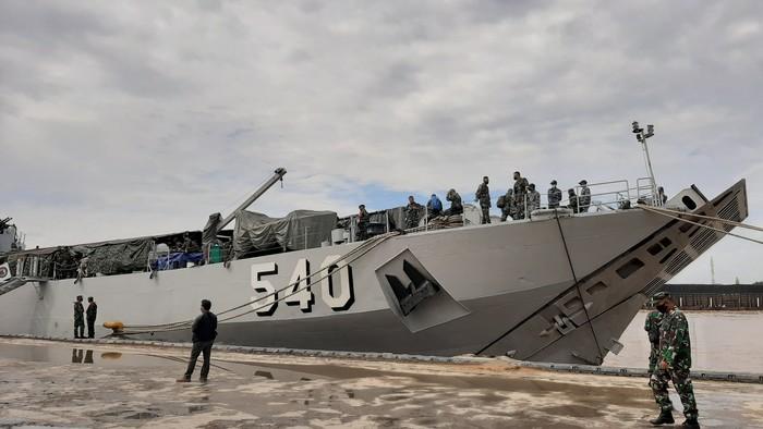 Pelepasan 450 prajurit TNI di Sumsel (Raja Adil-detikcom)