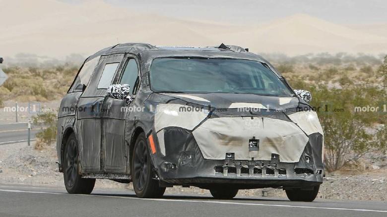 Foto spyshot Toyota Sienna