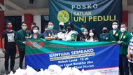 Asyik, Mahasiswa yang Nggak Mudik Dapat Jatah Sembako