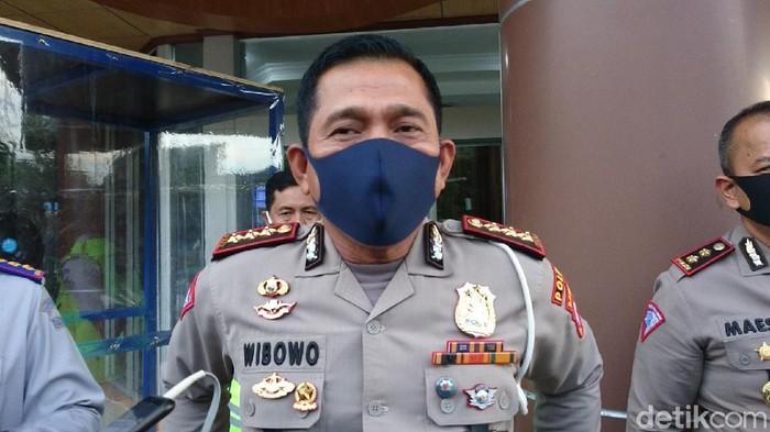 Dirlantas Polda Banten Kombes Wibowo (M Iqbal/detikcom)