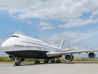 Ini adalah Boeing Business Jet 747-8i, jet pribadi terbesar yang beroperasi aktif di seluruh dunia. Istimewa/Dok. Boredpanda/albertopinto.