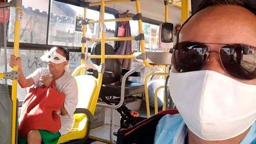 Ragam Foto Lucu di Tengah Pandemi Corona