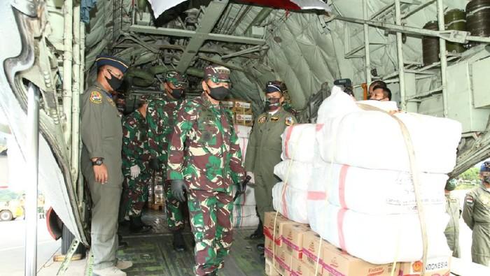 TNI Berikan Bantuan ke Korban Topan di Fiji