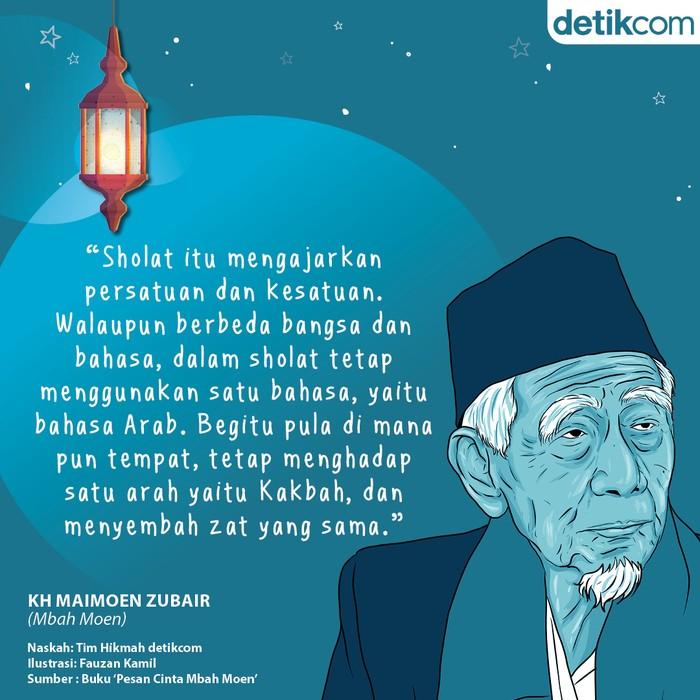 Mutiara ramadhan Mbah Moen